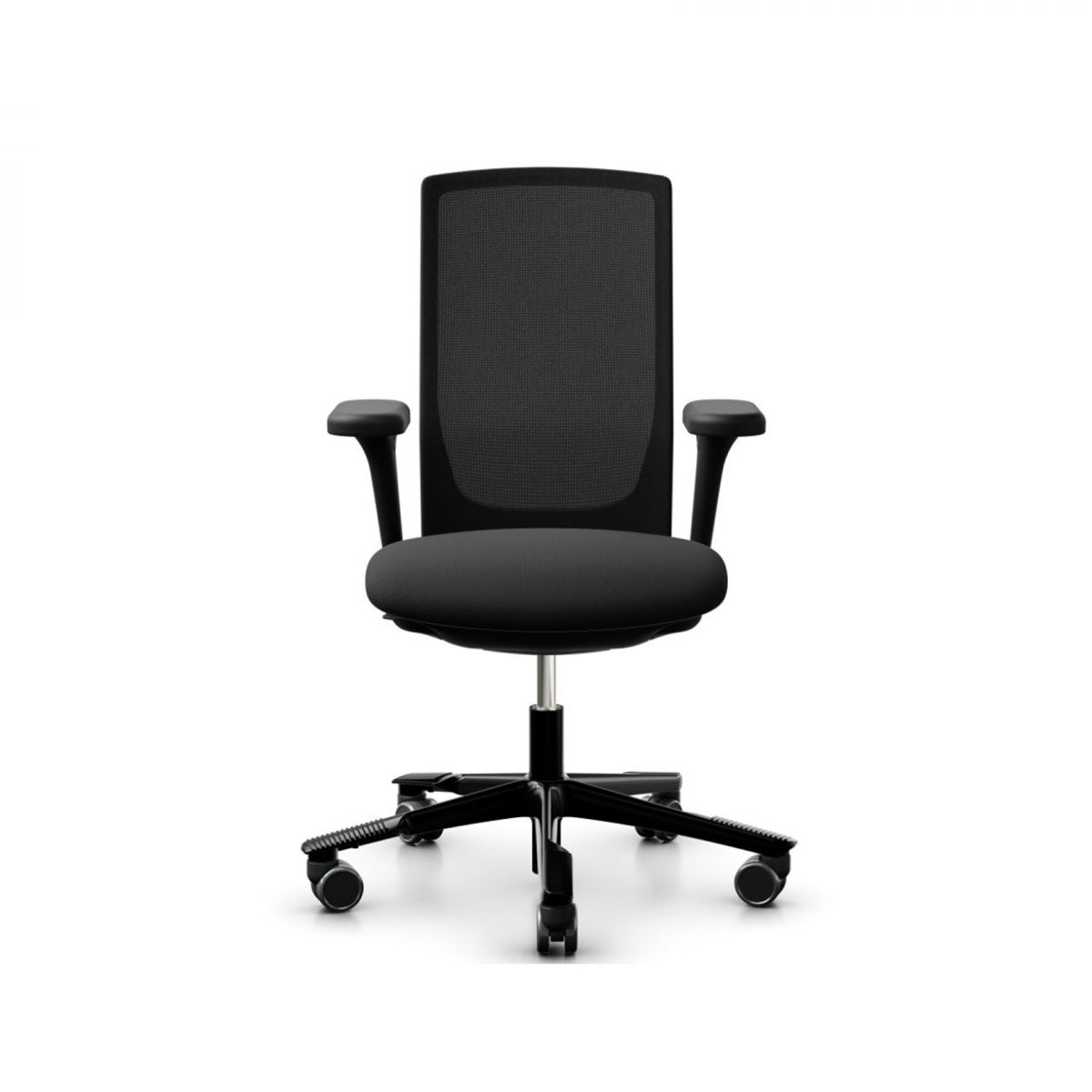 HAG Futu bureaustoel zwart 3D