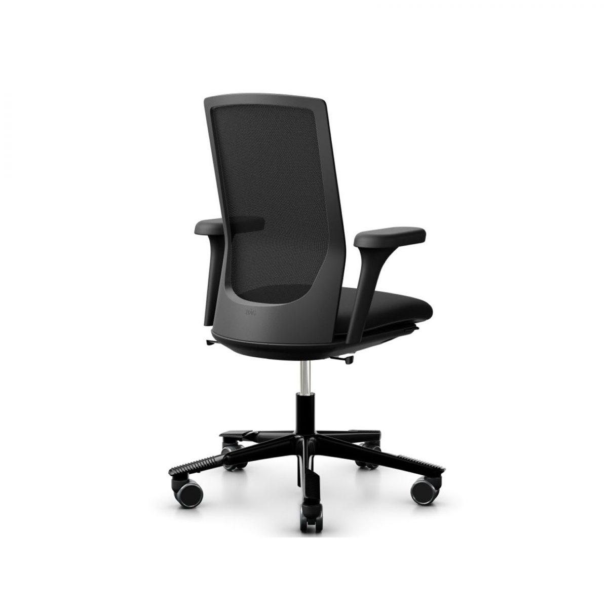 HAG Futu bureaustoel zwart