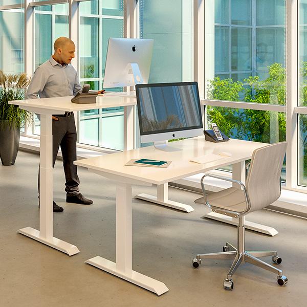 Ergohome thuiswerken voordelen zit sta bureaus